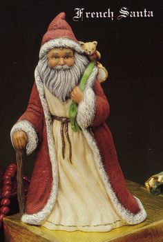 Old World Santa, French Santa, Kimple santa, Collectible santa, ready to paint, Christmas decoration,u-paint,Ready to paint,Ceramic bisque