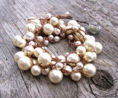 Pearl wrap By Sydnejo From sydnejo.etsy.com