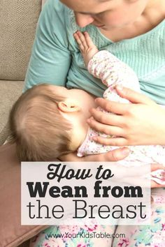 There is a lot of conflicting information about breast weaning, which is often an emotional time . This guide from a 3 time mom and OT gives clear steps and allows you to set your own pace. Weaning Breastfeeding, Stopping Breastfeeding, Breastfeeding And Pumping, 11 Month Old Baby, Parenting Books, Parenting Ideas, Kid Table, Baby Led Weaning, Fantastic Baby