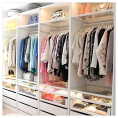 A round-up of the best closet makeovers using the IKEA Pax system with hacks to make it look custom and solutions for creating the most functional closet. Ikea Pax Closet, Ikea Closet System, Ikea Pax Wardrobe, Closet Hacks, Wardrobe Closet, Closet Makeovers, Wardrobe Storage, Small Closet Organization, Closet Ideas