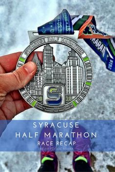 Syracuse Half Snow Storm Saga Race Recap | TheFitFoodieMama.com