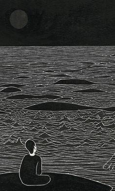wryer:    수월관음도(水月觀音圖), The Moon I See, Daehyun Kim.  Kim's work is my favourite