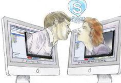 El amor en los tiempos de Skype