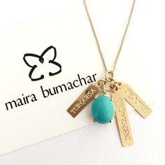Turquesa #inspiração #emoção #significado #colar #mairabumachar  ...
