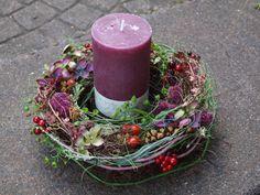 Romantisches Kränzchen von Kreative Blumenkunst auf DaWanda.com