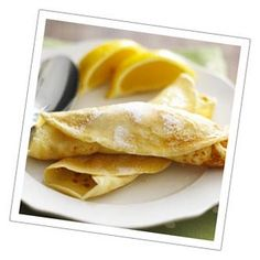 Crepes with lemon & sugar (and sometimes, butter). Making some for breakfast! Happy Pancake Day, Lemon Sugar, Crepes, Soul Food, Pancakes, Food Porn, Sweets, Eat, Cooking