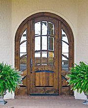 Country French Exterior Entry Doors DbyD-2036