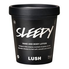 Lush | Sleepy lotion