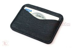 Items similar to Black Leather Minimalist Wallet - Personalized Gift for Dad, Leather Gift for Mom, Leather Groomsmen Gift, Leather Mens Wallet, Card Holder on Etsy Personalized Gifts For Dad, Leather Gifts, Minimalist Wallet, Leather Wallets, Groomsman Gifts, Card Holders, Card Wallet, Groomsmen, Gifts For Mom