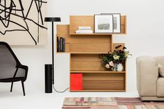 multipurpose furniture — Shift Shelf consists of spacious shelving units...