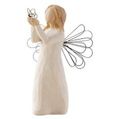 Willow Tree Figurine Freedom (Not a fan of the name, but love that it is an angel with a butterfly)