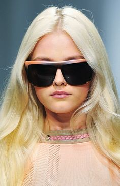 Details on Versace SS 2010's iconic collection.    Vlada Roslyakova