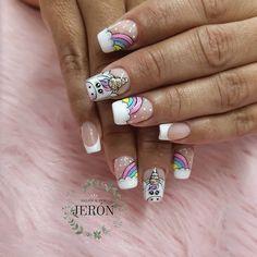 Kawaii Nail Art, Harley Quinn, Cute Nails, Dip, Toys, Beauty, Perfect Nails, Trendy Nail Art, Neon Nails