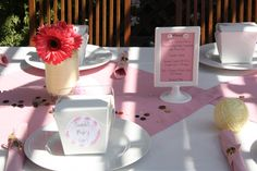 Real Party: Crafty Cute as a Button Baby Shower #decor #food