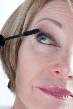 Eye make up can be difficult to get right as signs of aging show