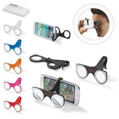 Image of Branded Foldable Virtual Reality Glasses Printed with your brand name or logo