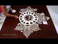 muggulu designs without dots Easy Rangoli Patterns, Rangoli Designs Peacock, Rangoli Designs Latest, Simple Rangoli Designs Images, Rangoli Ideas, Rangoli Designs Diwali, Rangoli Designs With Dots, Rangoli With Dots, Beautiful Rangoli Designs