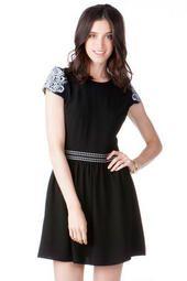 San Marino Embroidered Dress