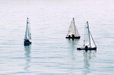 Trio Sailing Ships, Boat, Dinghy, Boats, Sailboat, Tall Ships, Ship