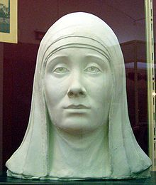 Eudoxia of Moscow - On 18 January 1367, Eudoxia married Grand Prince Dmitry Donskoy. In 1382, she stayed in Moscow in the absence of her husband, while the army of khan Tokhtamysh was approaching the capital. After the birth of her son Andrey Dmitriyevich, she attempted to leave Moscow, but was detained by the Muscovites, who agreed to let her go only after long negotiations. Forensic Facial Reconstruction, Nativity Church, Grand Prince, Russian Orthodox, Effigy, Russian Art, The Republic, Archaeology, Moscow