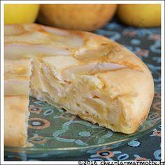 Sharlotka, gâteau russe aux pommes et aux poires | Marmotte cuisine !