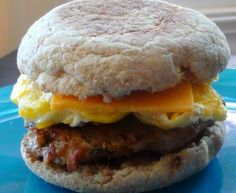 The Kitchen Witch: Make Ahead Cooking: Turkey Sausage and Egg Breakfast Sandwiches