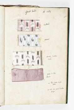 Gazette des atours de la Reine Marie-Antoinette pour l'été 1784 Grands habits