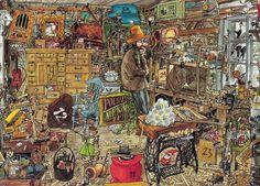 Pettson and Findus Christmas calendar (Sven Nordqvist, 1993)   Flickr - Photo Sharing!