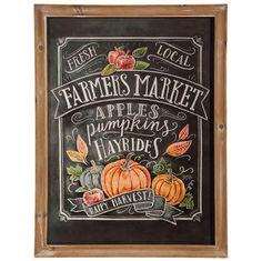 """24"""""""" Farmers Market Print"""