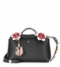 By The Way Mini embellished leather shoulder bag | Fendi