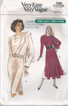 Dress With Overlay Loose Fitting Bodice Flared Or by Rosie247