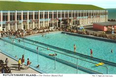 Twenty Brilliant John Hinde Postcards of the Barry Island Butlins - Flashbak Butlins Holidays, Wendy House, 7 Continents, Places Of Interest, Camping Life, Cool Pools, South Wales, Holiday Destinations, Old Pictures