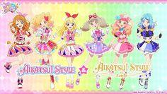 Aikatsu On Parade! Arte Fairy Tail, Anime Release, Anime Stars, Anime Friendship, Girls Anime, Shugo Chara, Maid Sama, All Friends, Pretty Cure