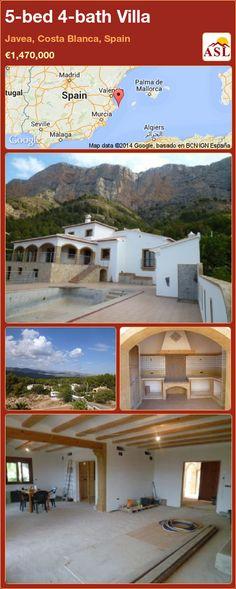 5-bed 4-bath Villa in Javea, Costa Blanca, Spain ►€1,470,000 #PropertyForSaleInSpain