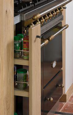 Rustieke landelijke keuken - De Bosbeke Küchen Design, Wine Rack, Liquor Cabinet, New Homes, Storage, Modern, Furniture, Kitchen Ideas, Home Decor