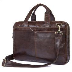 c9e04ed19f8a Vintage kožené pánské kožené pouzdro na notebooky Business Case kožené  kožené tašky na Messenger Tašky pro muže na ramenní popruhy tašky přes  rameno   MD- ...