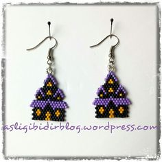 185 Best images about Halloween Seed Bead Tutorials, Seed Bead Projects, Seed Bead Patterns, Beading Projects, Beading Tutorials, Beading Patterns, Peyote Patterns, Seed Bead Jewelry, Seed Bead Earrings