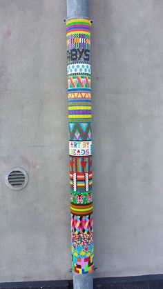 street art with hama beads perler
