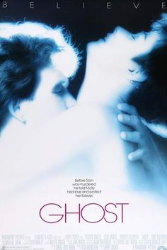 """""""Ghost"""" with Patrick Swayze, Demi Moore, Whoopi Goldberg and Tony Goldwyn. 17 awards including an Academy Award for Best Actress in a Supporting Role: Whoopi Goldberg. Film Movie, See Movie, Epic Movie, Titanic Movie, Movie Songs, Tony Goldwyn, Ghost Movies, Old Movies, 1990 Movies"""