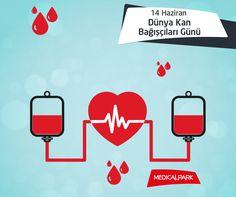Kan bağışlamak; hayat kurtarmanın yanı sıra, kanı veren kişinin bağışıklık sistemini güçlendirmesi nedeniyle önemlidir. http://www.medicalpark.com.tr/web/163-17494-1-1/medical_park_-_tr/medical_park/saglik_bilgisi/kan_verme #kanbağışı #kan