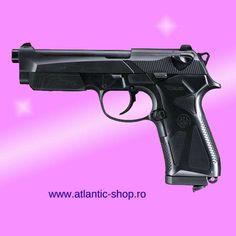 Pistol airsoft Umarex  Beretta 90TWO CO2 2J 15BB 6mm Custom Glock, Airsoft, Hand Guns, Tips, Punisher, Firearms, Pistols, Counseling