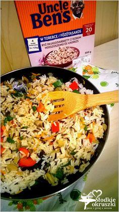 Fried Rice, Cobb Salad, Fries, Good Food, Ethnic Recipes, Nasi Goreng, Healthy Food, Stir Fry Rice, Yummy Food