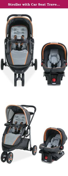 """Stroller with Car Seat Travel System Baby Modes Sport Click Features Lightweight, Sturdy Frame and Locking Front-Swivel Wheel, Black. Strolling, jogging, driving... take your little one along with you with the Graco Modes Sport Click Connect Stroller & SnugRide 35 Infant Car Seat Travel System. Includes the Modes Sport three-in-one stroller paired with the top-rated SnugRide Click Connect 35 Infant Car Seat. Car seat recommended for infants from 4-35 lbs. and up to 32"""" Car seat safety..."""