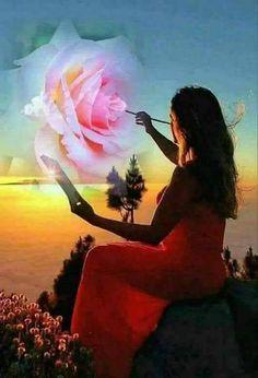Eres una rosa. No hace falta que te den una.