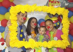 "Photo 5 of 36: Circus Duo Party / Birthday ""This year together has been a Circus"" 