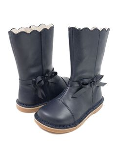 ee8a95b103645 These cute girls boots are all suede and are very comfy. They are a great