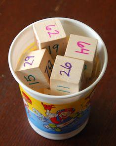Reading Two-Digit Numbers: Easy DIY Activity - In Lieu of Preschool