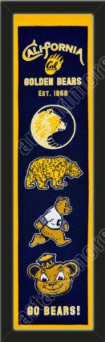 Heritage Banner Of California Golden-Framed Awesome & Beautiful-Must For A Championship Team Fan! Most NCAA Team Banners Available-Plz Go Through Description & Mention In Gift Message If Need A different Team Art and More, Davenport, IA http://www.amazon.com/dp/B00F9UIFT4/ref=cm_sw_r_pi_dp_sXAJub1Q8W7QH