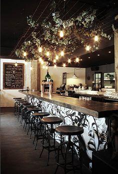 Print Design: Bottom band of bar (environmental)   atelierlovasi , Montreal.....