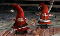 Le 5 leggende (Rise of the Guardians, 2012) due simpatici personaggi del film